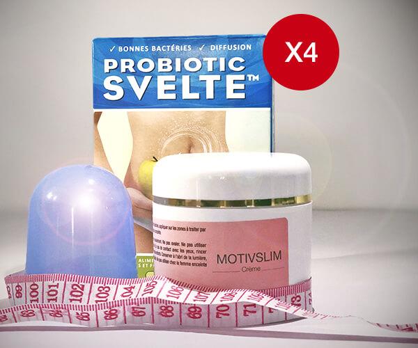 Pack Probiotic Svelte x4
